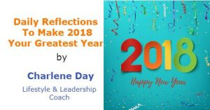 Daily Reflections To Make 2018 Your Greatest Year