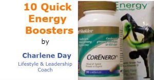 10 Quick Energy Boosters
