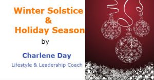 Winter Solstice and Holiday Season